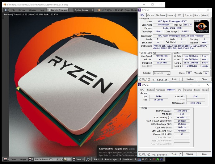 Playing with Threadripper
